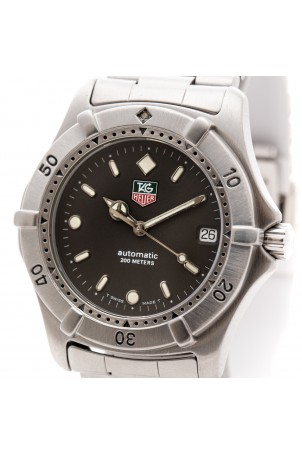 TAG HEUER 2000 38MM STAINLESS STEEL REF: 669.206