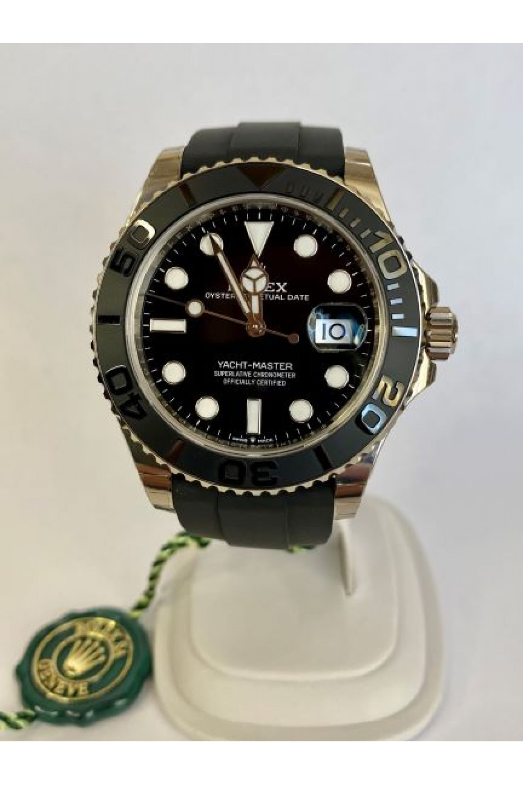 ROLEX YACHT MASTER 42MM MAY 2021 NEW STICKERS FULL REF: 226659
