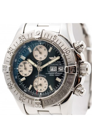 BREITLING SUPEROCEAN 42MM CHRONOGRAPH STEEL REF: A13340