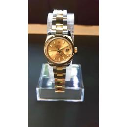 ROLEX DATEJUST LADY OYSTER PERPETUAL DATE STEEL & GOLD