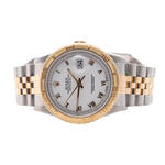 ROLEX TURN-O-GRAPH STEEL AND 18K GOLD
