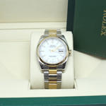 ROLEX DATEJUST OYSTER PERPETUAL STEEL & GOLD 18KA 36MM