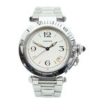 CARTIER PASHA STAINLESS STEEL AUTOMATIC