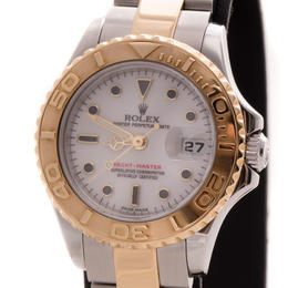 ROLEX YACHTMASTER LADY 29MM STEEL/GOLD FULL SET