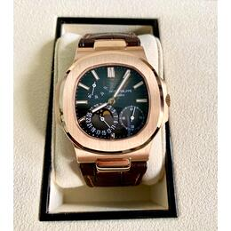PATEK PHILIPPE NAUTILUS MOONPHASE ROSE GOLD 5712R YEAR 2020