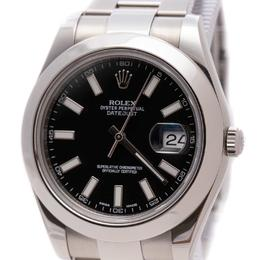 ROLEX DATEJUST II 41 MM BLACK DIAL