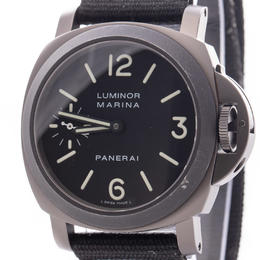 PANERAI LUMINOR MARINA PVD BLACK LIMITED EDITION 1000 PCS