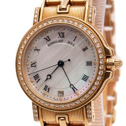 BREGUET MARINE LADY 18K GOLD & DIAMONDS