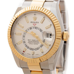 ROLEX SKY-DWELLER 42MM YELLOW GOLD 18K CALENDAR