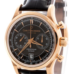 CARL F. BUCHERER MANERO FLYBACK CHRONOGRAPH 18K ROSE GOLD