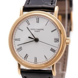 PATEK PHILIPPE CALATRAVA 18K YELLOW GOLD AUTOMATIC