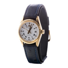 BAUME & MERCIER BAUMATIC 18 KA YELLOW GOLD AUTOMATIC