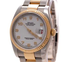 ROLEX DATEJUST OYSTER PERPETUAL STEEL & GOLD 18K