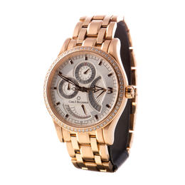 CARL F. BUCHERER MANERO AUTOMATIC UNISEX 18KA ROSE GOLD