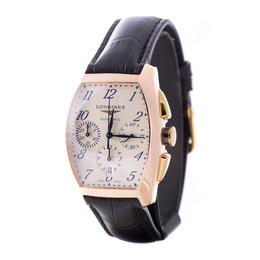 LONGINES EVIDENZA 18KT ROSE GOLD CHRONOGRAPH