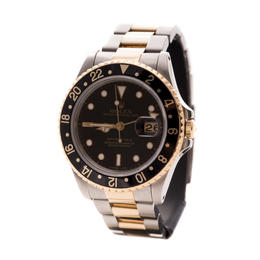 ROLEX GMT-MASTER II STEEL & GOLD