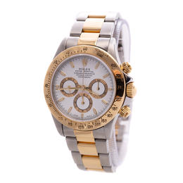 ROLEX DAYTONA COSMOGRAPH ZENITH OYSTER PERPETUAL GOLD & STEEL