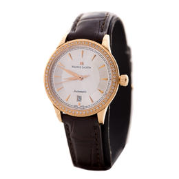 MAURICE LACROIX LES CLASSIQUES AUTOMATIC LADIES WATCH YELLOW GOLD WITH DIAMONDS