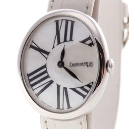 EBERHARD & CO. GILDA QUADRANTE MOTHER OF PEARL DIAL