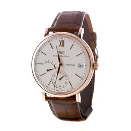 IWC PORTOFINO HAND-WOUND 18KA ROSE GOLD 8 DAYS POWER RESERVE