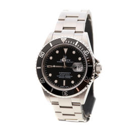 ROLEX SUBMARINER CERAMIC BLACK OYSTER PERPETUAL STEEL CHRONOMETER DATE