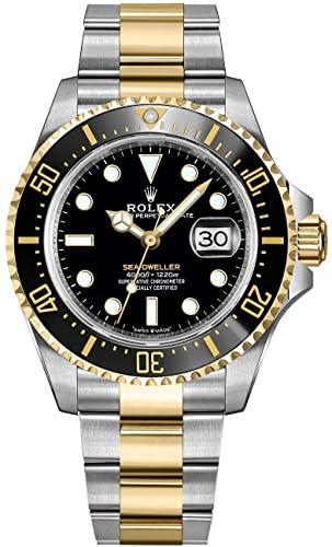 ROLEX SEA-DWELLER TWO-TONE GOLD&STEEL 43MM REF: 126603
