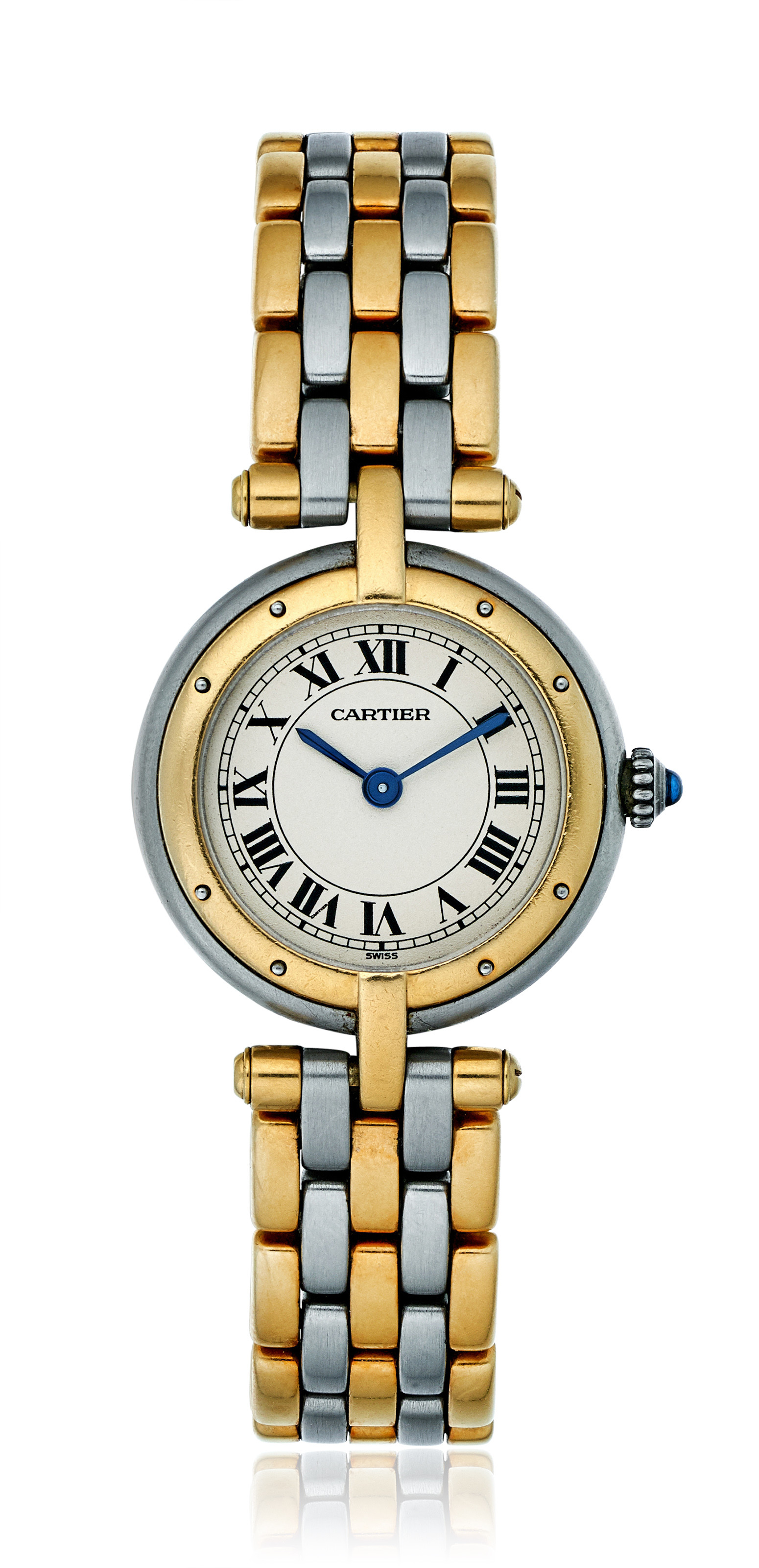 CARTIER PANTHERE 24MM GOLD&STEEL REF: 166920