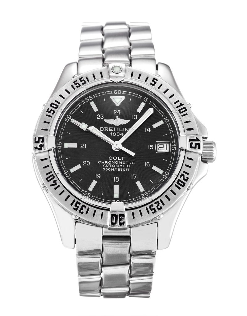 BREITLING COLT 38MM AUTOMATIC 500M REF: A17350
