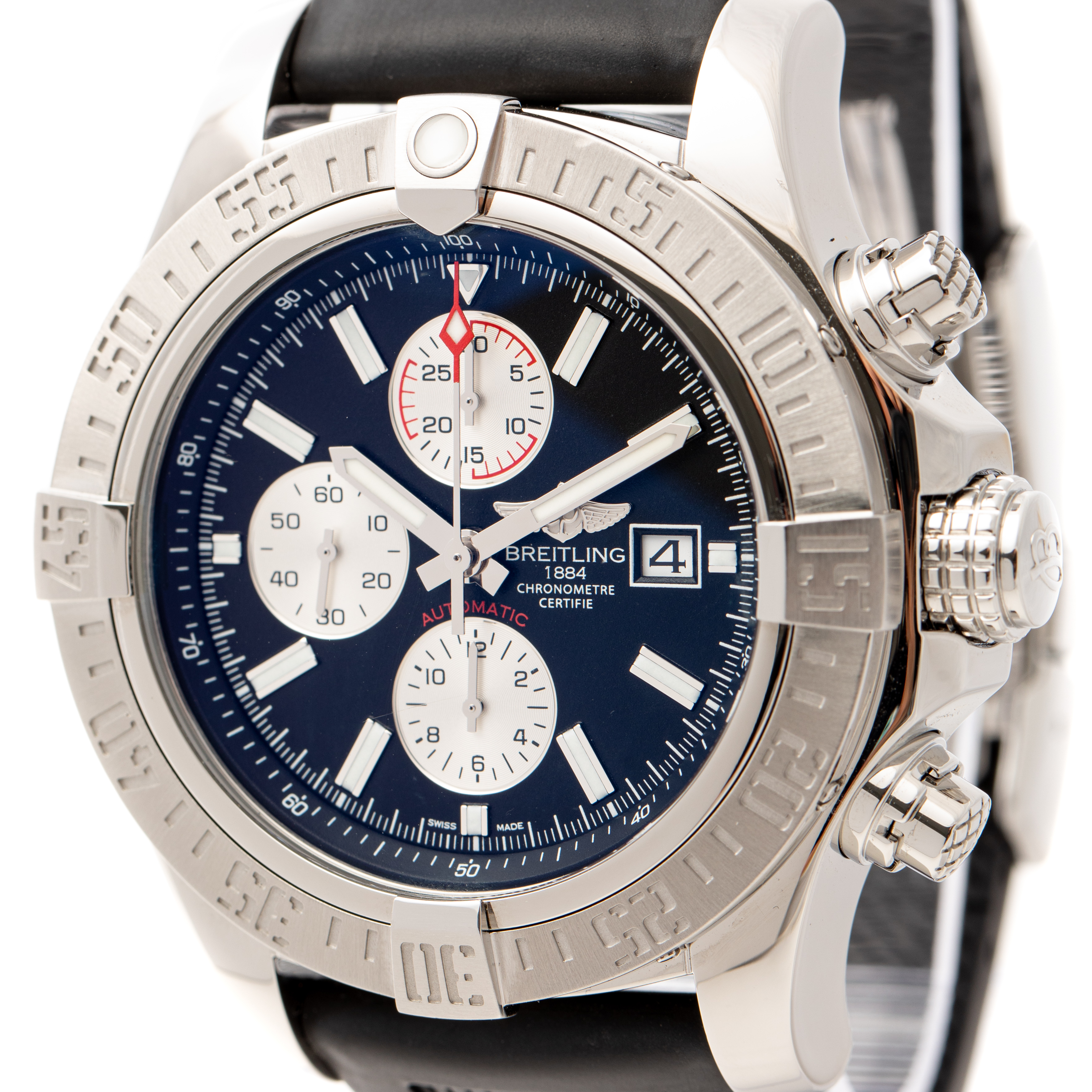 BREITLING SUPER AVENGER II 48MM AUTOMATIC CHRONOGRAPH REF: A1337111